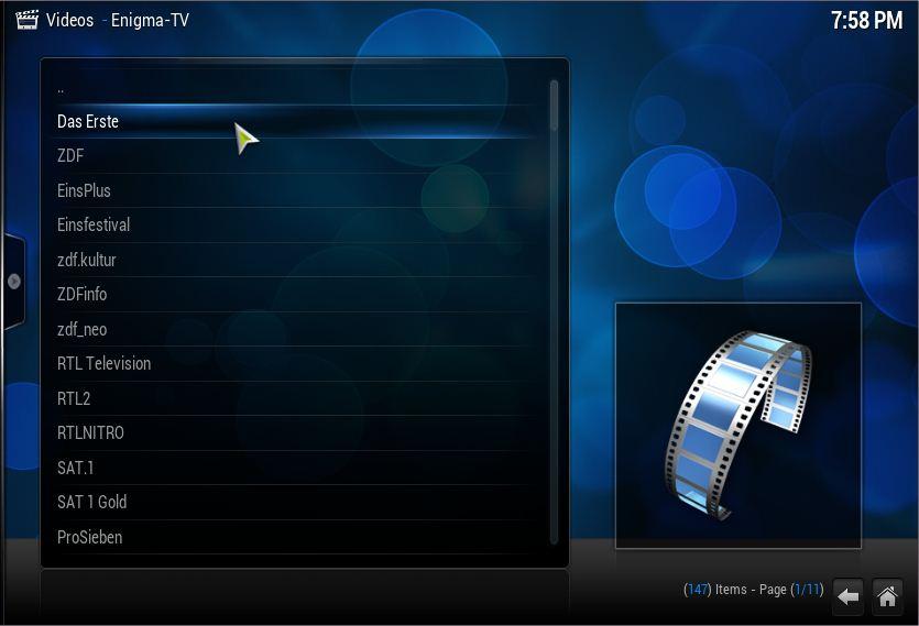 Video Plugin] Enigma-TV, streaming Dreambox over Internet